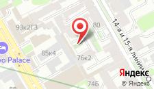 Гостиница Талисман на карте