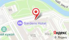 Хостел Авантаж на Смоленке на карте