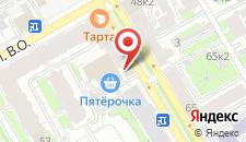 Гостиница Авент Инн Васильевский на карте