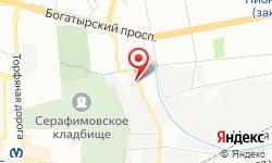 Расположение Сети на карте