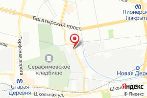 Адрес Сети на карте