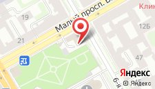 Гостиница СПБ ВЕРГАЗ на карте