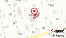 Гостиница Форт-Р на карте