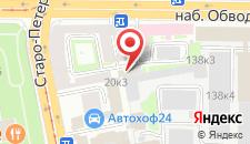 Гостиница Нарвская на карте