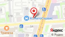 Отель Новорижский на карте