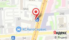 Апарт-отель На Рижском на карте
