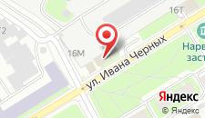 Отель Екатерингоф на карте