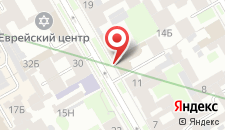 Гостиница Rinaldi на Васильевском острове на карте