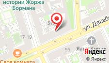 Мини-отель Сильва на карте
