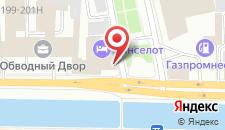 Отель Ланселот на карте