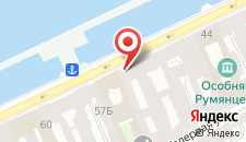 Отель Счастливый Пушкин на карте