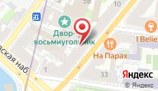 Мини-отель Петровский на карте