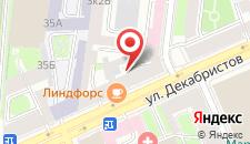 Отель Samsonov Hotel on Dekabristov на карте