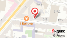 Гостиница Rinaldi на Большом на карте