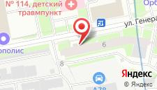 Отель Вероника на карте