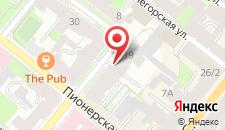 Отель Алекс отель на Петроградской на карте