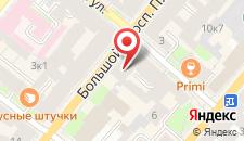 Мини-отель Петроградский на карте