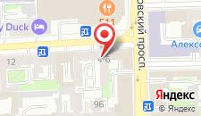 Отель Палантин на карте