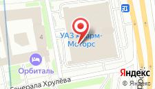 Мини-отель Норд Хаус на карте