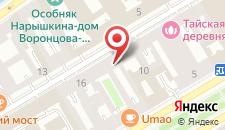 Отель Невский Бриз на карте