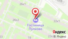Отель Пулково на карте