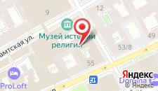 Отель Апрель на карте