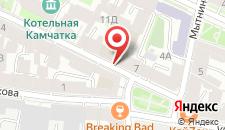 Отель Кронверк на карте