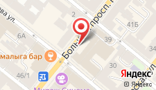 Отель Введенский на карте