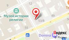 Гостиница Апрель на Почтамтском на карте
