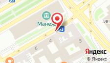 Отель Исаакиевский на карте