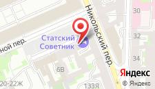 Отель Статский Советник на Кустарном на карте