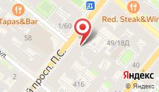 Мини-отель Большой 45 на карте