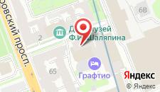 Бутик-Отель Графтио на карте