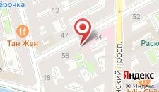 Хостел Журавлик на карте