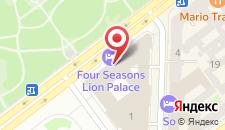 Отель Four Seasons Lion Palace на карте