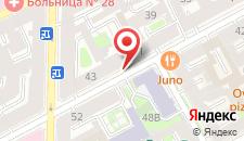Гостиница Петровский двор на карте