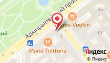 Гостиница Петр отель на карте