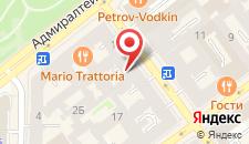 Гостиница Соната на Гороховой на карте