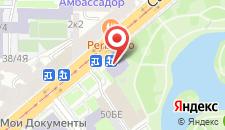 Гостиница Юсупов на карте