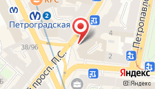 Хостел Толстой на карте