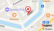 Отель Гоголь Хауз на карте