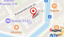 Отель ReMarka на Столярном на карте