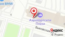 Отель Crowne Plaza Санкт-Петербург Аэропорт на карте