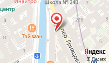 Отель Демидов мост на карте