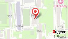 Хостел Питерский дворик на карте