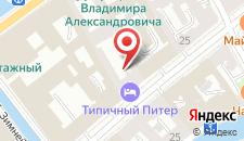 Гостиница Наука на карте