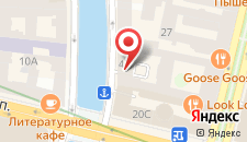 Апартаменты Дом у Эрмитажа на карте
