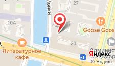 Гостиница Резиденция на Мойке на карте