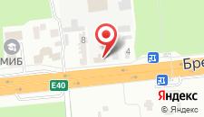 Отель Краков на карте