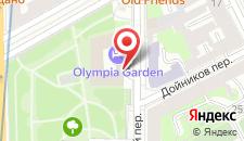 Отель Сокос Олимпия Гарден на карте
